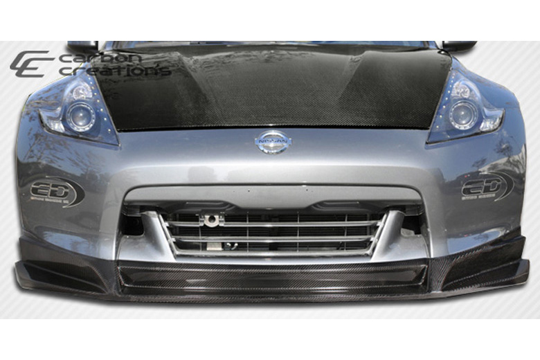 2010 Nissan 370Z Carbon Creations SL-R Front Lip (Add On)