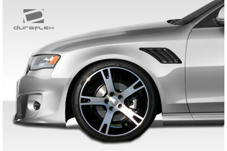 2010 Audi S4 Duraflex A-Tech Fender Vents