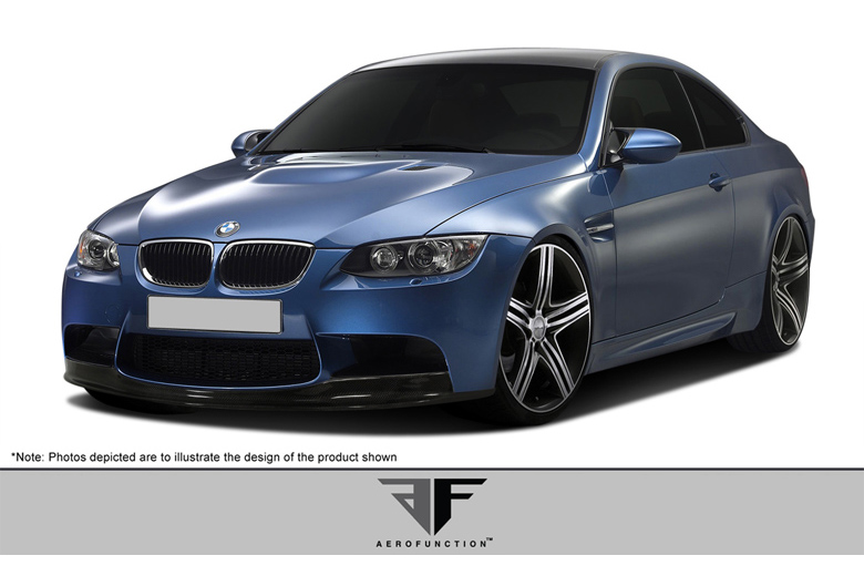 2012 BMW M-Series Aero Function AF-1 Front Lip (Add On)