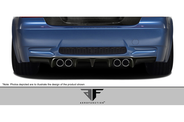 2012 BMW M-Series Aero Function AF-1 Rear Lip (Add On)