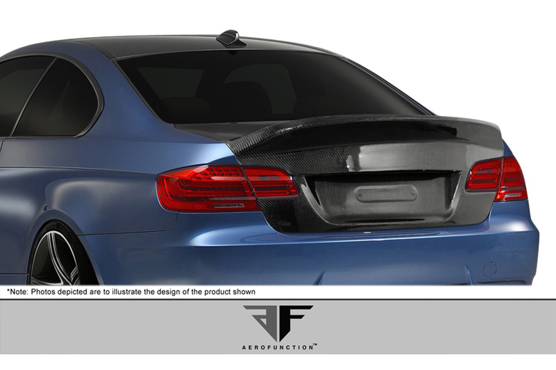 2012 BMW M-Series Aero Function AF-1 Trunk / Hatch