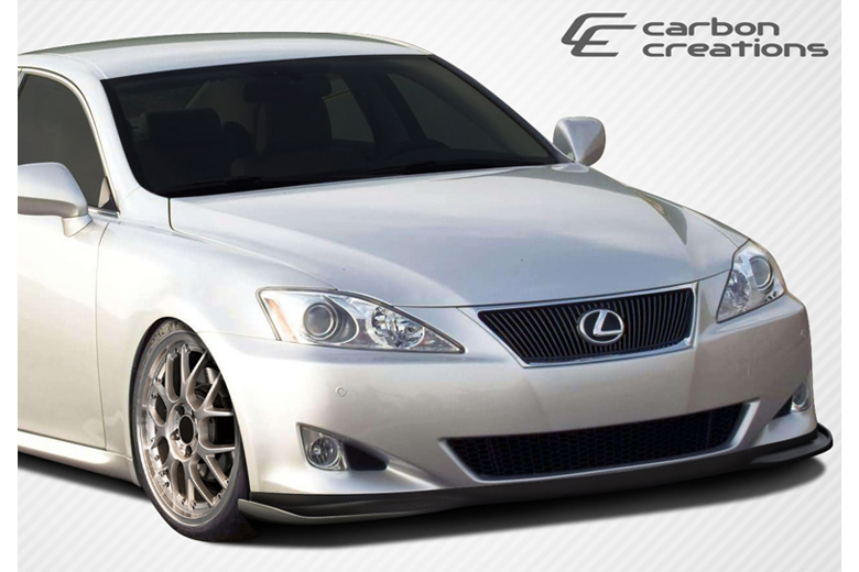 2007 Lexus IS Carbon Creations VIP Front Lip (Add On)