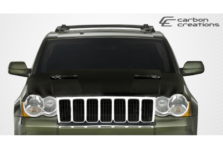 2006 Jeep Grand Cherokee Carbon Creations Challenger Hood