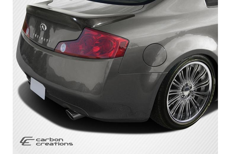 2006 Infiniti G35 Carbon Creations I-Spec Spoiler