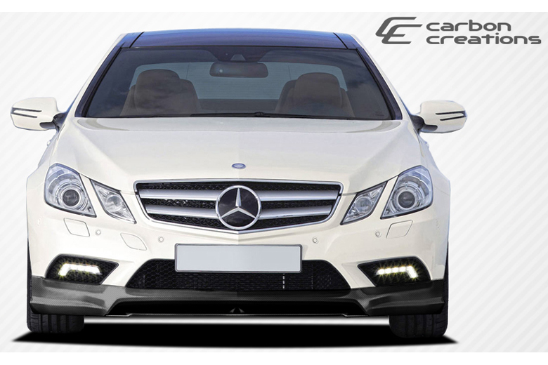 2010 Mercedes E-Class Carbon Creations CR-S Front Lip (Add On)