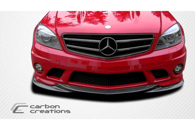 2008 Mercedes C-Class Carbon Creations L-Sport Front Lip (Add On)