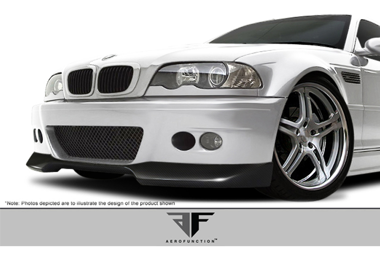 2006 BMW M-Series Aero Function AF-1 Front Lip (Add On)