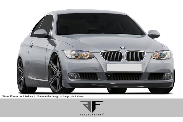 2008 BMW 3-Series Aero Function AF-1 Front Lip (Add On)