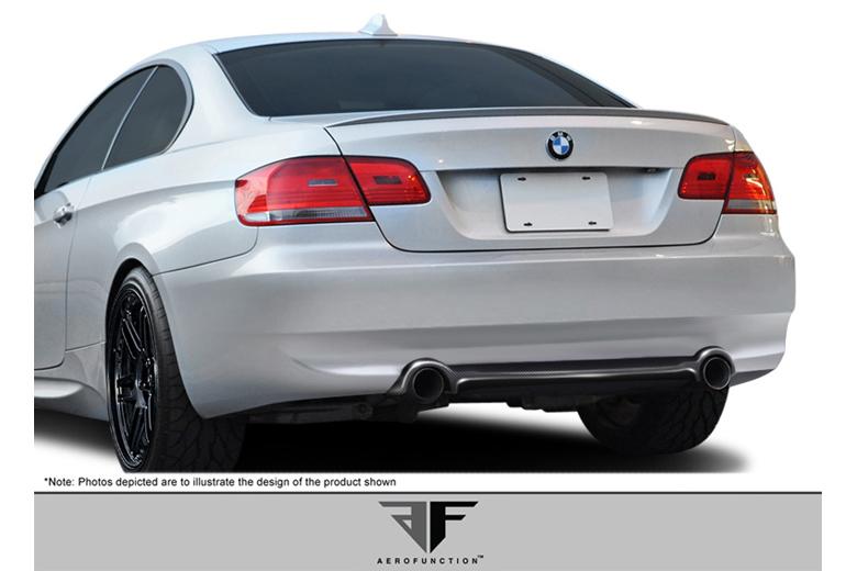 2008 BMW 3-Series Aero Function AF-1 Rear Lip (Add On)