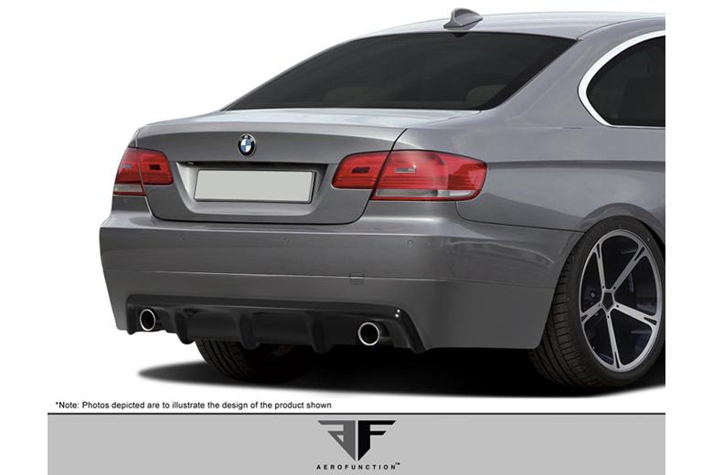 2008 BMW 3-Series Aero Function AF-2 Rear Lip (Add On)