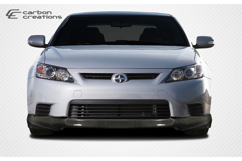2013 Scion tC Carbon Creations X-5 Front Lip (Add On)