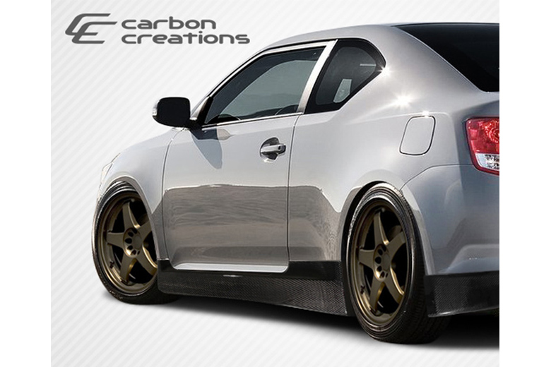 2013 Scion tC Carbon Creations X-5 Sideskirts