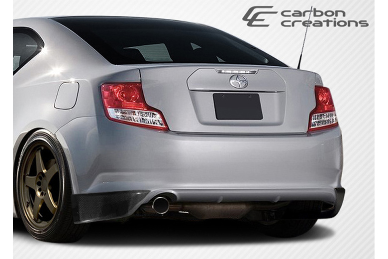 2013 Scion tC Carbon Creations X-5 Rear Lip (Add On)