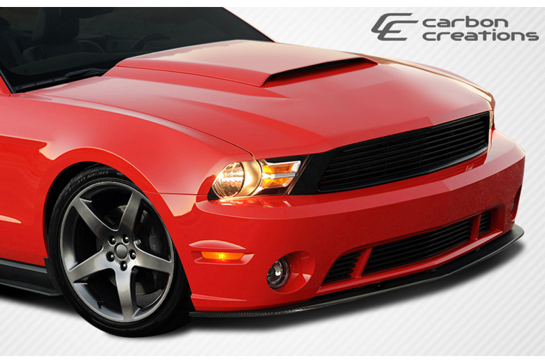 2010 Ford Mustang Carbon Creations R-Spec Front Lip (Add On)