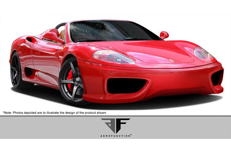 2003 Ferrari 360 Modena Aero Function AF-1 Bumper (Front)