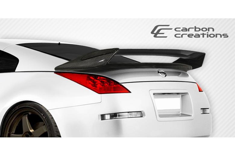 2003 Nissan 350Z Carbon Creations N-2 Spoiler
