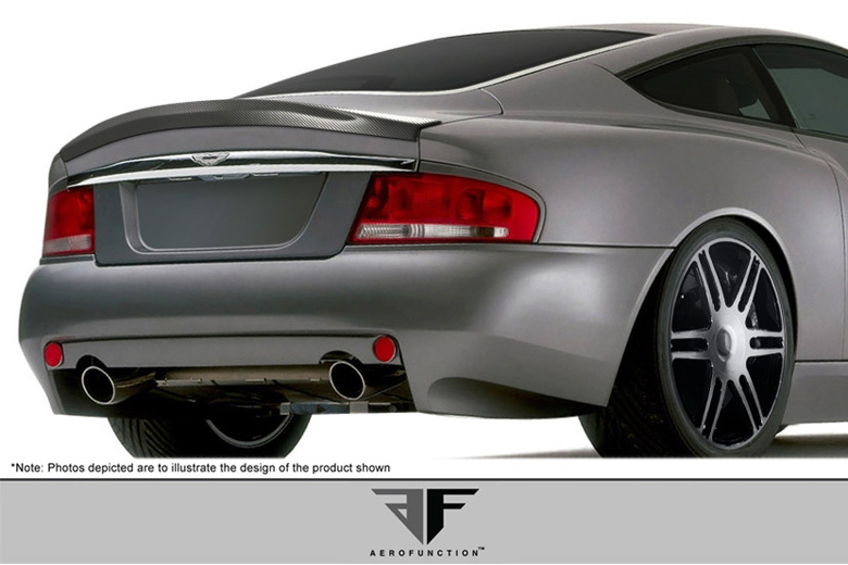 2005 Aston Martin Vanquish Aero Function AF-1 Spoiler