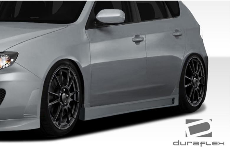 2011 Subaru Impreza Duraflex C-Speed 3 Sideskirts