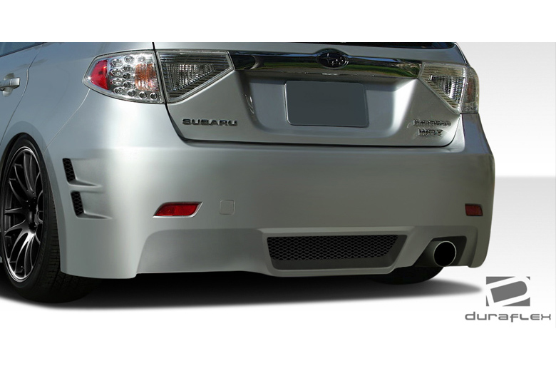 2010 Subaru WRX Duraflex C-Speed 3 Bumper (Rear)