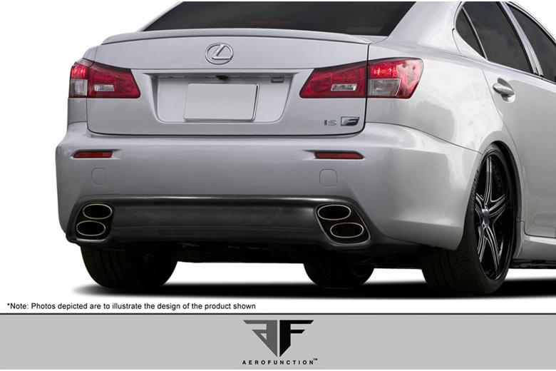 2013 Lexus IS Aero Function AF-1 Rear Lip (Add On)