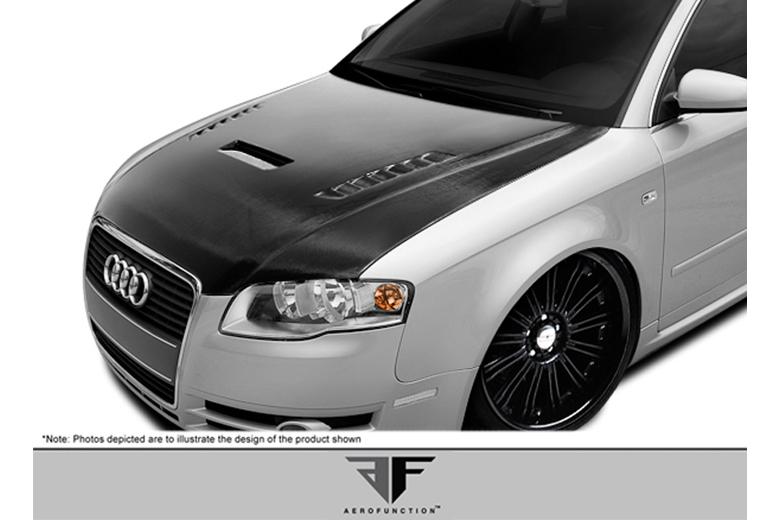 2008 Audi S4 Aero Function AF-1 Hood