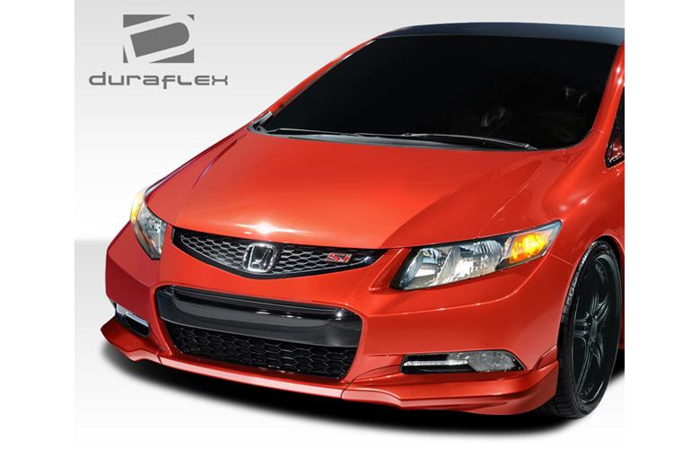 2013 Honda Civic Duraflex H-Sport Front Lip (Add On)