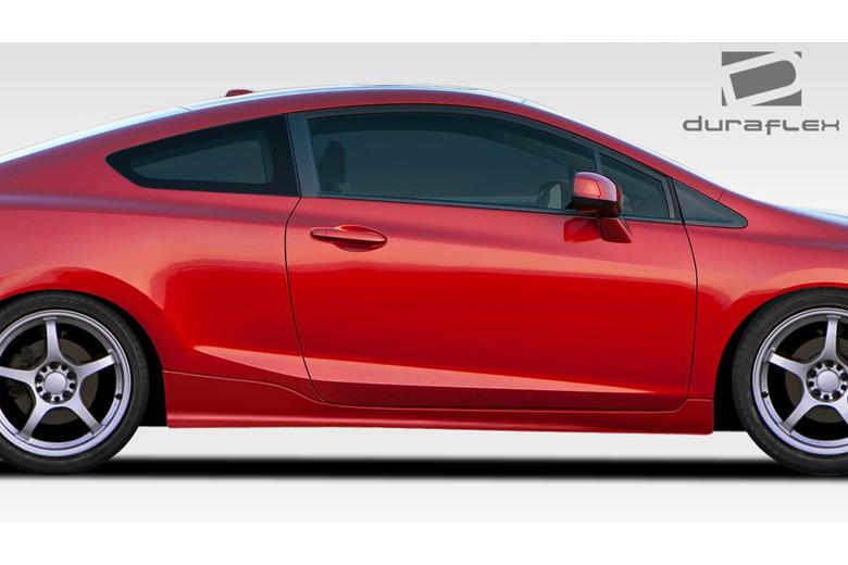 2013 Honda Civic Duraflex H-Sport Sideskirts
