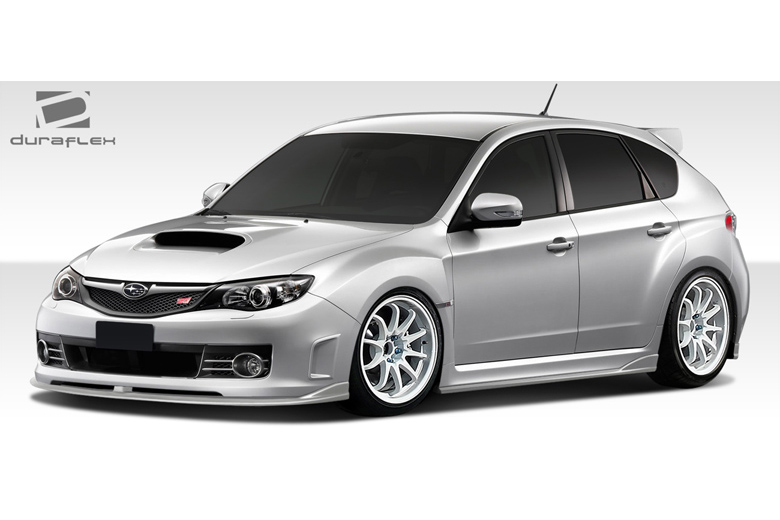 2010 Subaru WRX Duraflex C-Speed 2 Front Lip (Add On)