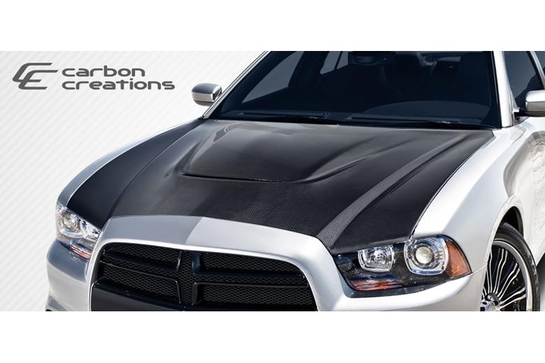 2014 Dodge Charger Carbon Creations SRT Look Hood