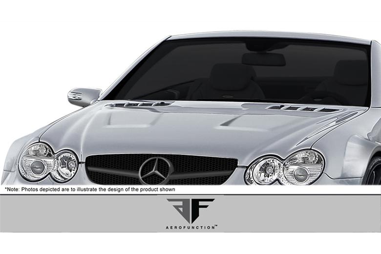 2004 Mercedes SL-Class Aero Function AF-Signature 1 Series Hood