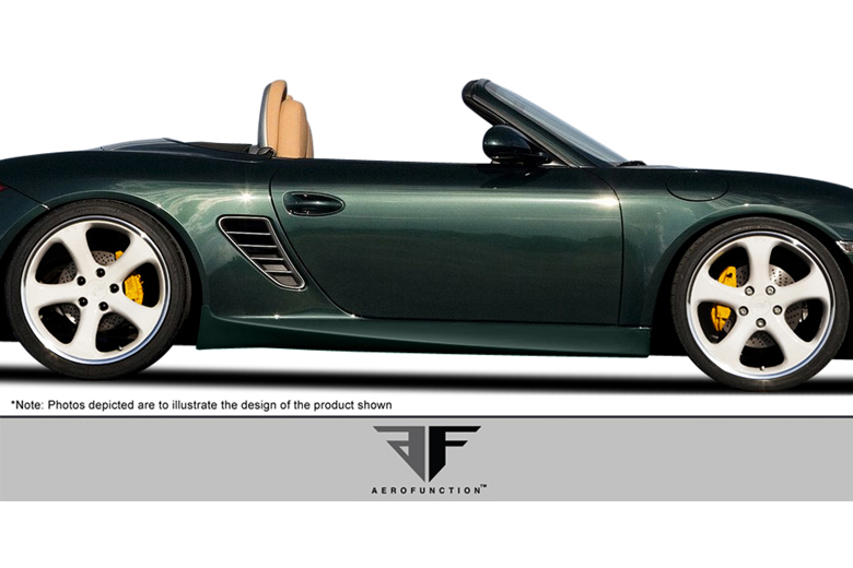 2005 Porsche Boxster Aero Function AF-1 Sideskirts