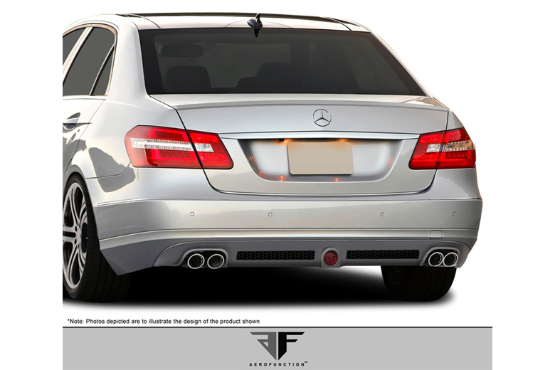 2010 Mercedes E-Class Aero Function AF-1 Front Lip (Add On)