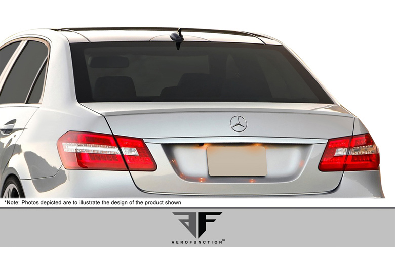 2011 Mercedes E-Class Aero Function AF-1 Spoiler