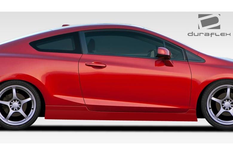 2013 Honda Civic Duraflex Bisimoto Sideskirts