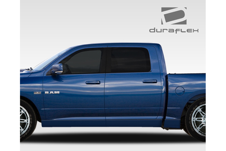 2013 Dodge Ram Duraflex MP-R Sideskirts