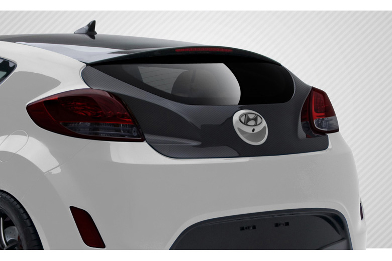 2012 Hyundai Veloster Carbon Creations Trunk / Hatch