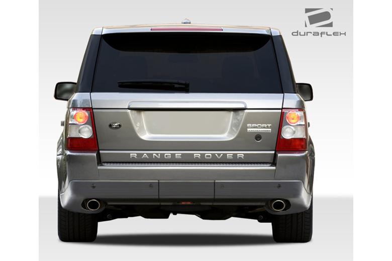 2009 Land Rover Range Rover Sport Duraflex AR-D Rear Lip (Add On)