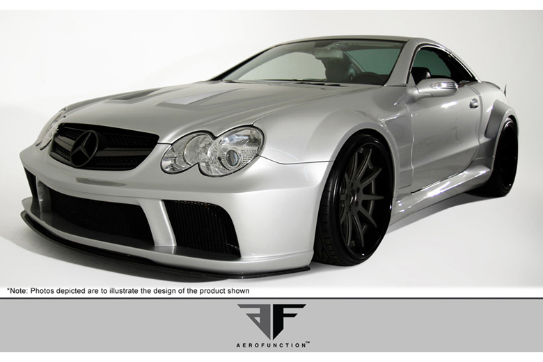 2004 Mercedes SL-Class Aero Function AF-Signature Series 1 Body Kit