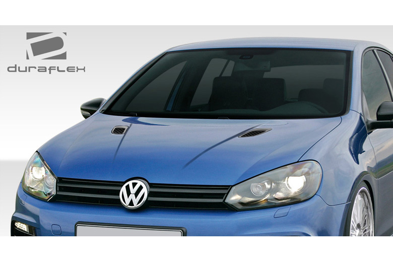 2010 Volkswagen GTI Duraflex RV-S Hood