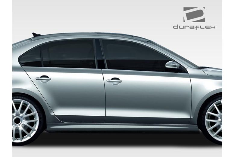 2014 Volkswagen Jetta Duraflex R Look Sideskirts