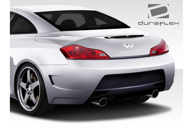 2010 Infiniti G Coupe Duraflex Elite Bumper (Rear)