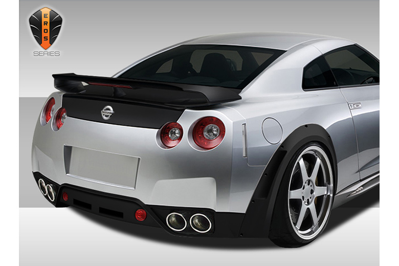 2013 Nissan GTR Duraflex Eros Version 1 Bumper (Rear)