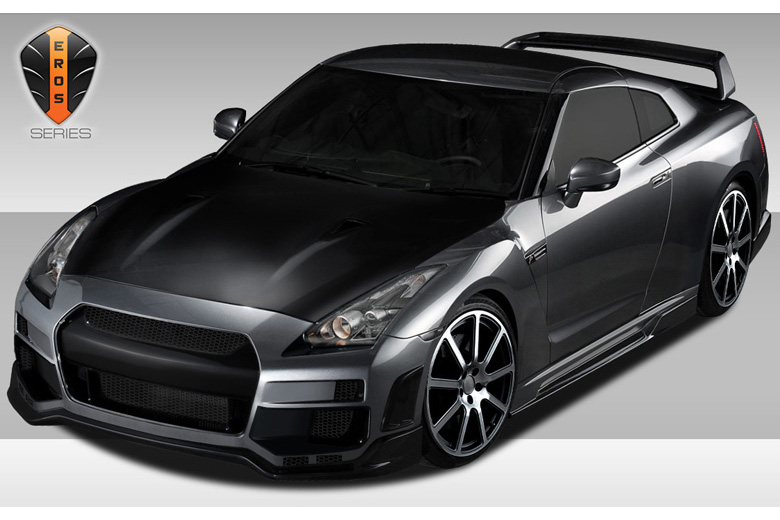 2013 Nissan GTR Duraflex Eros Version 1 Body Kit