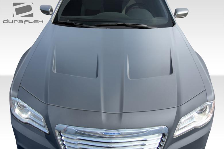 2012 Chrysler 300 Duraflex Brizio Hood