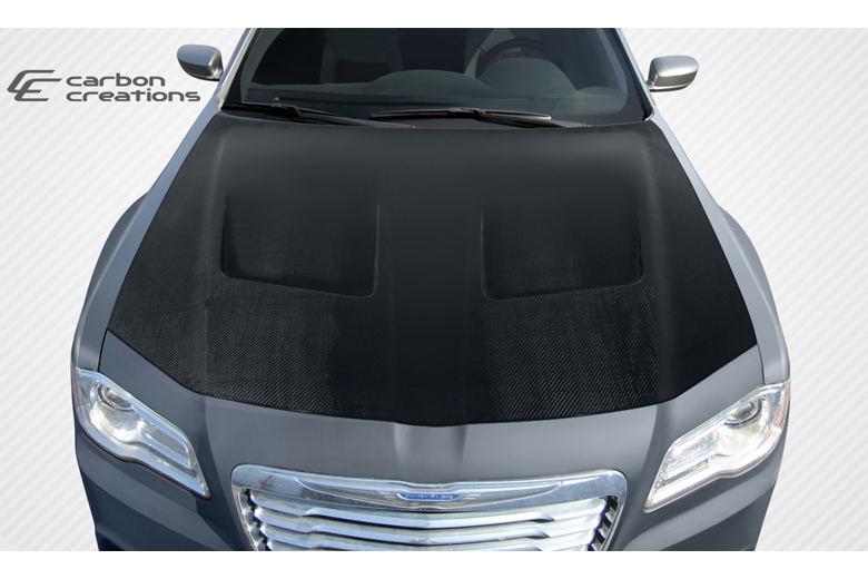 2014 Chrysler 300 Carbon Creations Brizio Hood