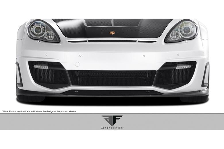 2012 Porsche Panamera Aero Function AF-1 Front Lip (Add On)