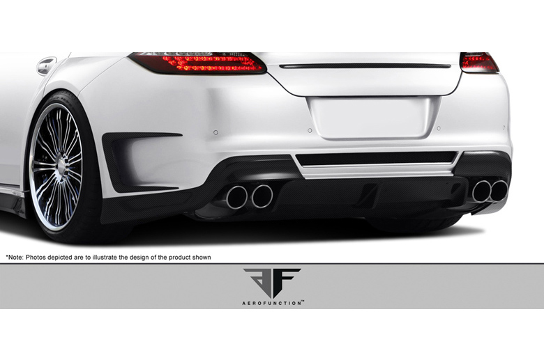 2012 Porsche Panamera Aero Function AF-1 Bumper (Rear)