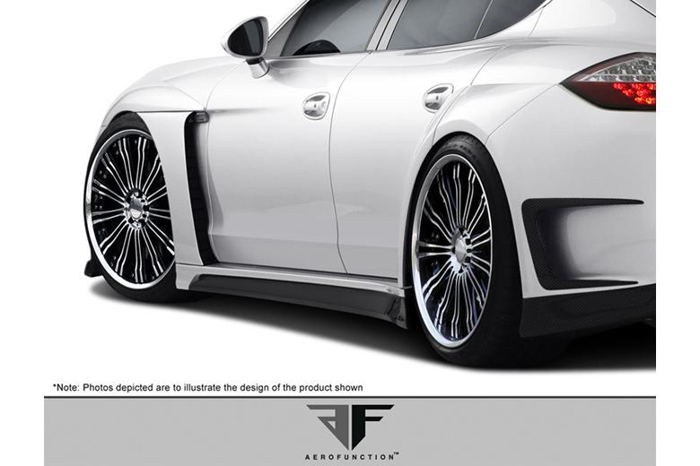 2012 Porsche Panamera Aero Function AF-1 Fender Flare