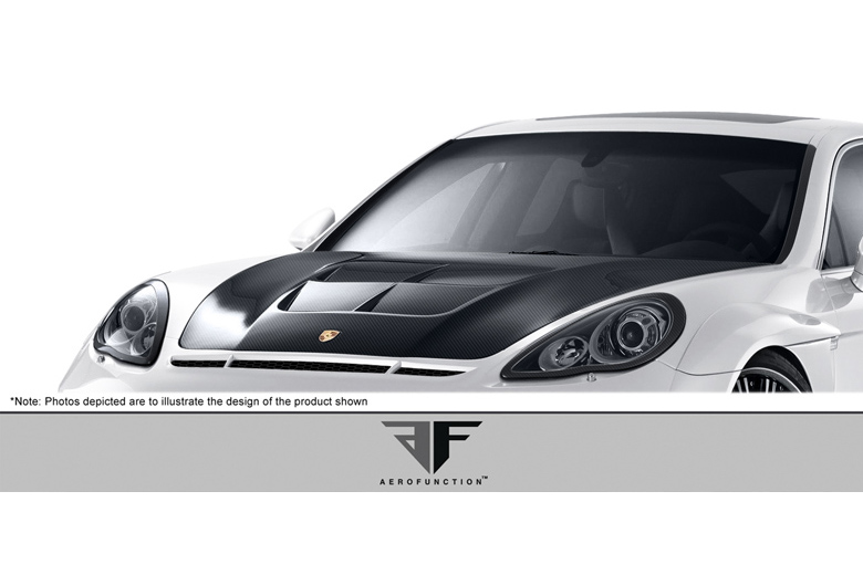 2012 Porsche Panamera Aero Function AF-1 Hood