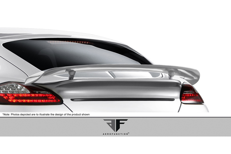 2010 Porsche Panamera Aero Function AF-1 Fog Light Covers